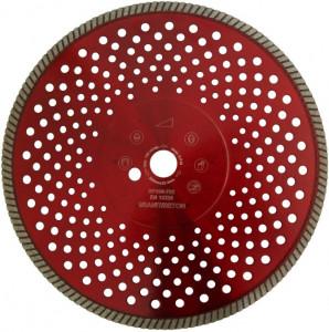 Disc DiamantatExpert pt. Granit & Piatra - Turbo 350mm Super Premium - DXDH.2677.350