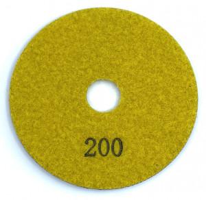 Paduri / dischete diamantate pt. slefuire umeda #200 100mm Super Premium - DXDH.23007.100.0200