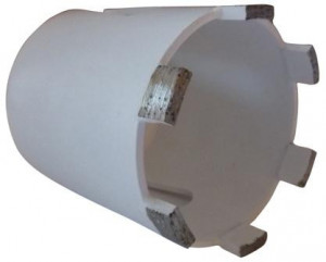 Carota diamantata pt. beton armat, zidarie, calcar - 8 segmenti diam. 68mm - Super Premium - DXDH.80117.68.08-WEISS
