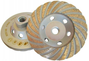 Cupa diamantata, M14 Turbo pt. Beton 125mm Profesional Standard - DXDH.4817.125-M14