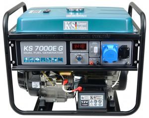 Generator de curent 5.5 kW HIBRID (GPL + Benzina) - Konner & Sohnen - KS-7000E-G