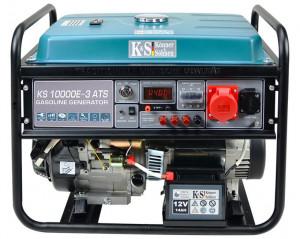 Generator de curent 8 kW benzina PRO - Konner & Sohnen - KS-10000E-3-ATS