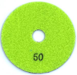 Paduri / dischete diamantate pt. slefuire umeda #50 100mm Super Premium - DXDH.23007.100.0050