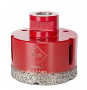 Carota diamantata pt. portelan, placi ceramice DryGres 68mm - RUBI-4917