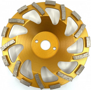 Cupa diamantata, segment tip ventilator - Beton/Abrazive 180mm Premium - DXDY.PSCC.180