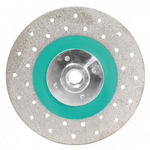 Disc Diamantat galvanizat pt. taiat si slefuit 125xM14 (mm) Super Premium - BIHUI-DCWMM5