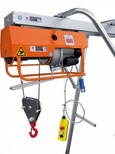 Electropalan Profesional 950 kg, 2 x 25 metri cablu - IORI-DT950MAX-25m Motor Trifazic