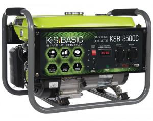 Generator de curent 3 kW benzina BASIC LINE - Konner & Sohnen - KSB-3500C