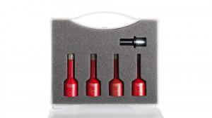 Kit carote diamantate Mini DryGres 6, 8, 10, 12mm, 4 buc. - RUBI-50938