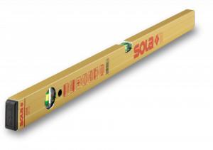 Nivelă cu bula ( Boloboc ) cu profil tubular, 50cm AZM 50 - Sola-01820701