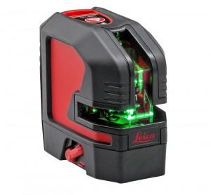 Nivela Laser Verde cu linii in cruce si punct, Lino L2P5G - Leica-864435