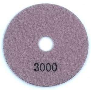 Paduri / dischete diamantate pt. polish uscat #3000 100mm Super Premium - DXDH.24007.100.3000