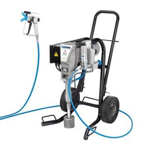 Pompa de vopsit / zugravit AIRLESS Industriala cu Carucior - Complet Echipata - 4L/min - Larius Zeus