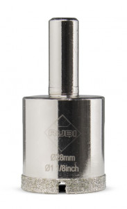 Carota diamantata pt. portelan, placi ceramice EasyGres 28mm - RUBI-5962
