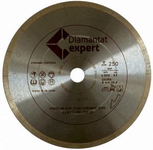 Disc DiamantatExpert pt. Portelan dur, ceramica dura - Ultra Long Life 300x25.4 (mm) Ultra Premium - DXWD.QNBG.300.25