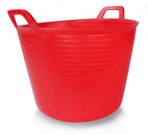 Galeata FLEXTUB din plastic rosie Nr.3 (40 L) - RUBI-88726