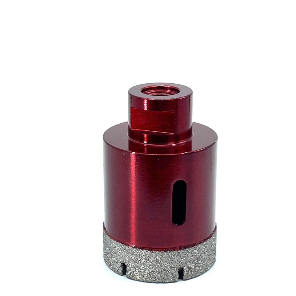 Carota diamantata pt. gresie portelanata & piatra - diam. 50mm - Premium - DXDH.80408.50