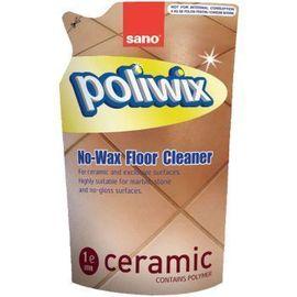Detergent pardoseli delicate Sano Poliwix Ceramic rezerva economica 750ml
