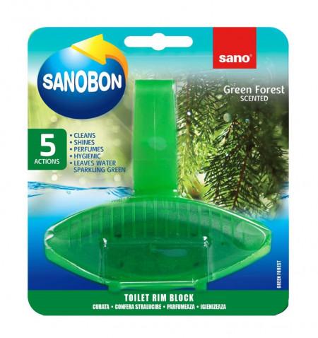Odorizant wc Sano Bon Green Forest (VERDE)-5in1 7290102990030