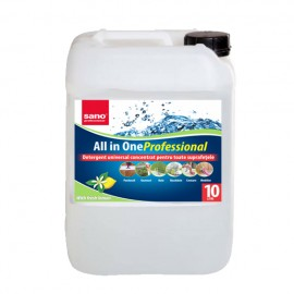 Poze Detergent concentrat universal Sano Professional All in One 10L
