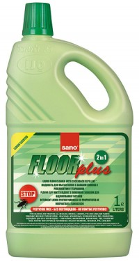 Poze Detergent pardoseli Sano Floor Plus - anti insecte 1L