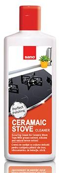 Detergent pentru plite vitroceramice Sano Ceramic Tops Cleaner 300ml