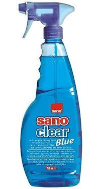 Detergenti geamuri Sano Clear Blue Trigger 750 mL