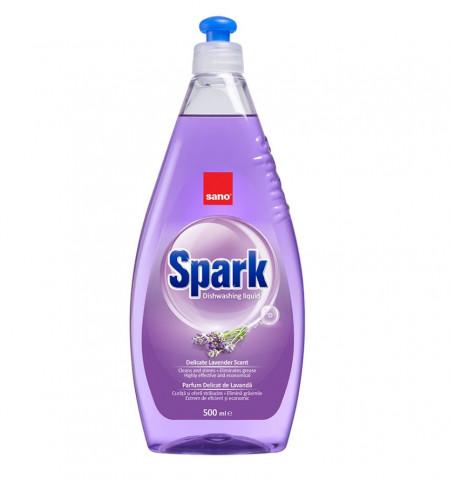 Detergent de vase Sano Spark Lavand 500 ml 7290005425875