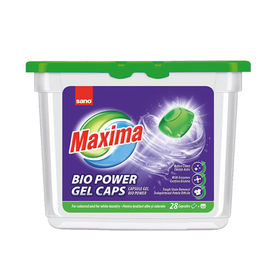 Detergent de rufe capsule Sano Maxima Gel Bio (28Buc)