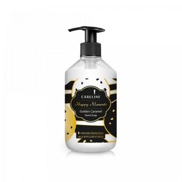 Sapun Lichid Careline Happy Moments Golden Caramel 500 ml