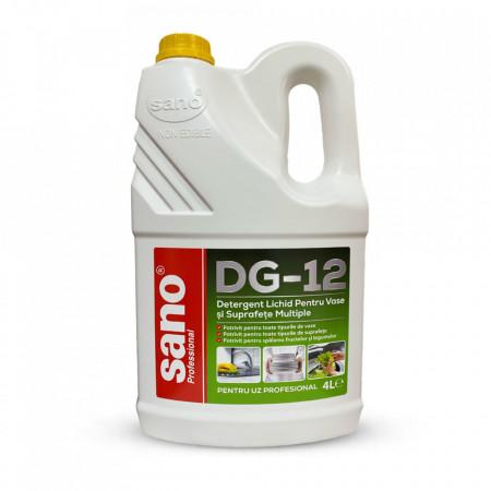 Detergent de vase profesional Sano Professional DG-12 4L 7290102993130