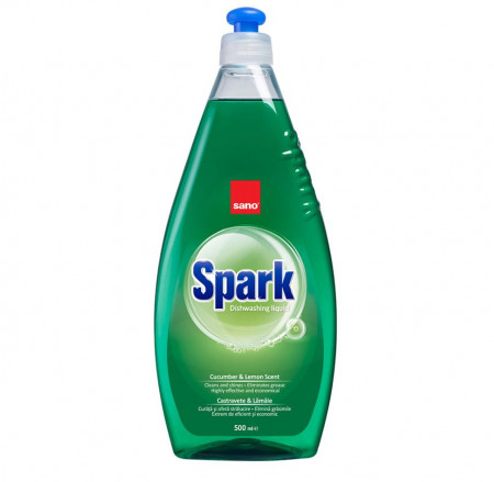 Detergent de vase Sano Spark Castravete 500 ml 7290005425899