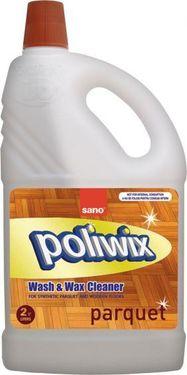 Detergent pardoseli cu ceara naturala Sano Poliwix Parquet 2L