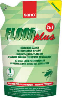 Detergent pardoseli Sano Floor Plus - Rezerva Economica 750ml