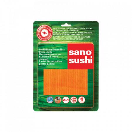 Laveta microfibra Sano Sushi Professional 80x50 pentru podele 7290011598372
