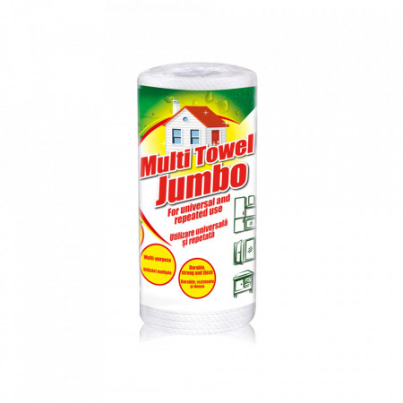 Lavete reutilizabile din hartie Sano Multi Towel Jumbo (75 Prosoape reutilizabile) 7290000295541