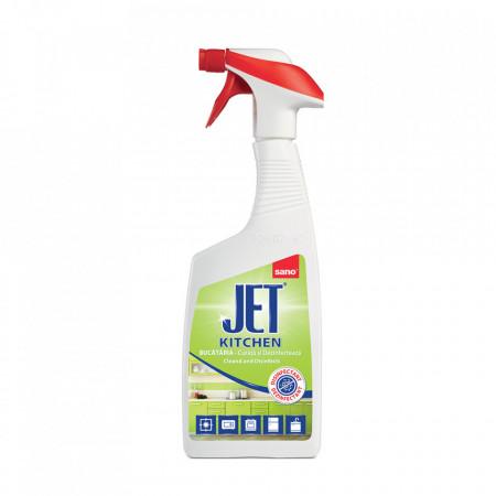 Solutie dezinfectanta pentru bucatarie Sano jet 750 ml
