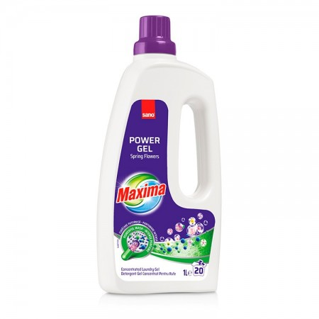 Detergent de rufe Sano Maxima Power Gel Mountain Fresh 1L