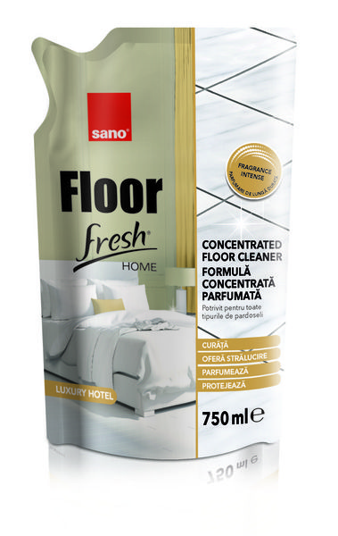Detergent pardoseli Sano Floor Fresh Home Luxury Hotel 750 ml- rezerva