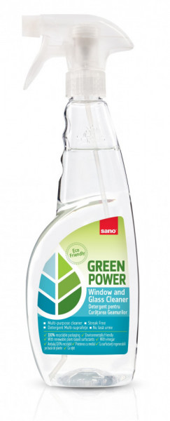 Detergent pentru geam Sano Green Power Window 750ml 7290108351736