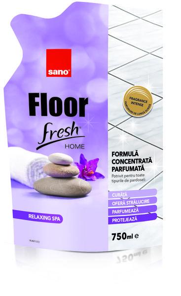 Detergent pardoseli Sano Floor Fresh Home Relaxing Spa 750 ml- rezerva