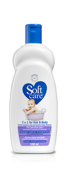 Lotiune de baie fara sapun pink Soft Care 500 ml