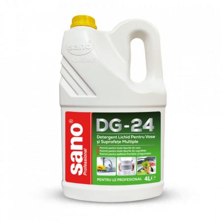 Detergent de vase profesional Sano Professional DG-24 4L 7290102993123