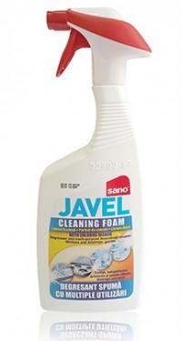 Detergent universal degresant cu inalbitor Sano Cleaning Foam 750ml