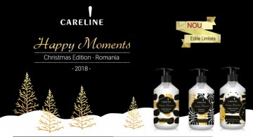 Poze Sapun Lichid Careline Happy Moments Golden Caramel 500 ml