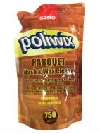 Detergent pardoseli cu ceara naturala Sano Poliwix Parquet - Rezerva Economica 750ml