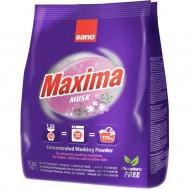 Detergent rufe pudra Sano Maxima Musk 1.25Kg- 35 spalari