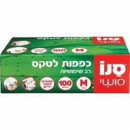 Manusi Latex pudrate M Sano Sushi 100buc