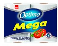 Prosop de bucatarie Optima Mega- Sano Professional 2 role x 90 foi