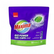 Detergent de rufe capsule Sano Maxima Gel Bio (16 Buc) Refill